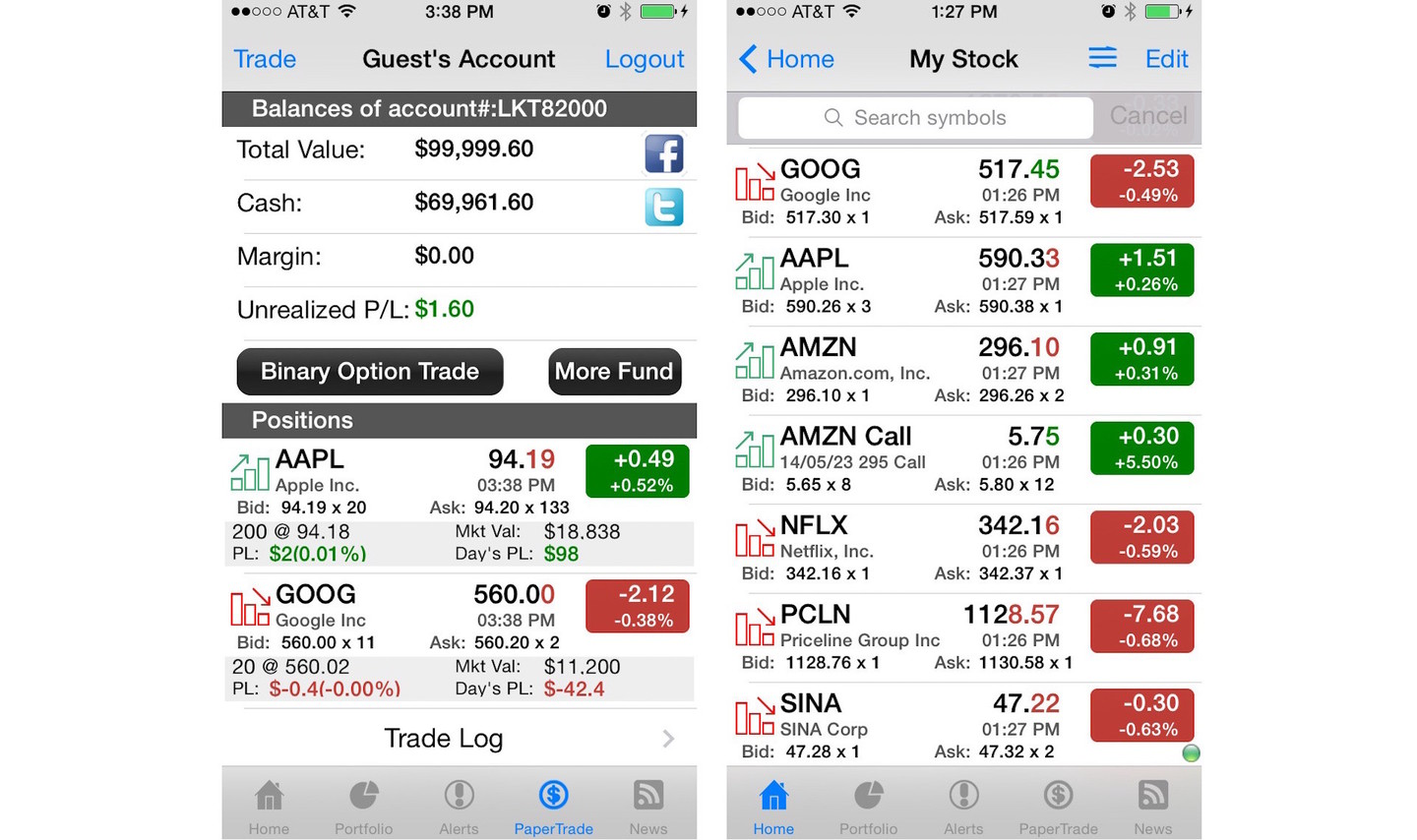 Stocks Tracker : Real-time Stock,forex And Chart By Dajax LLC