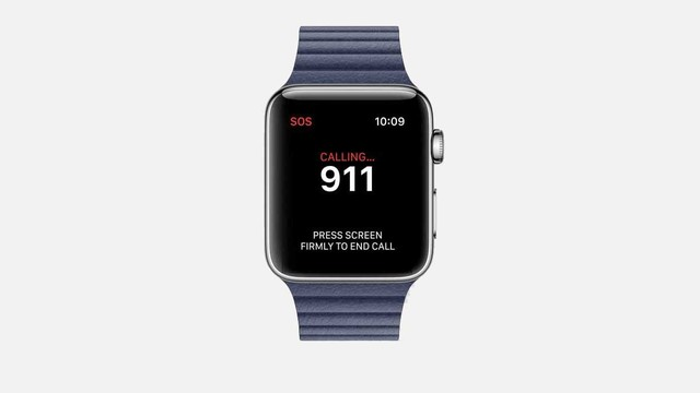 Activating the Apple Watch SOS Emergency Calling Feature