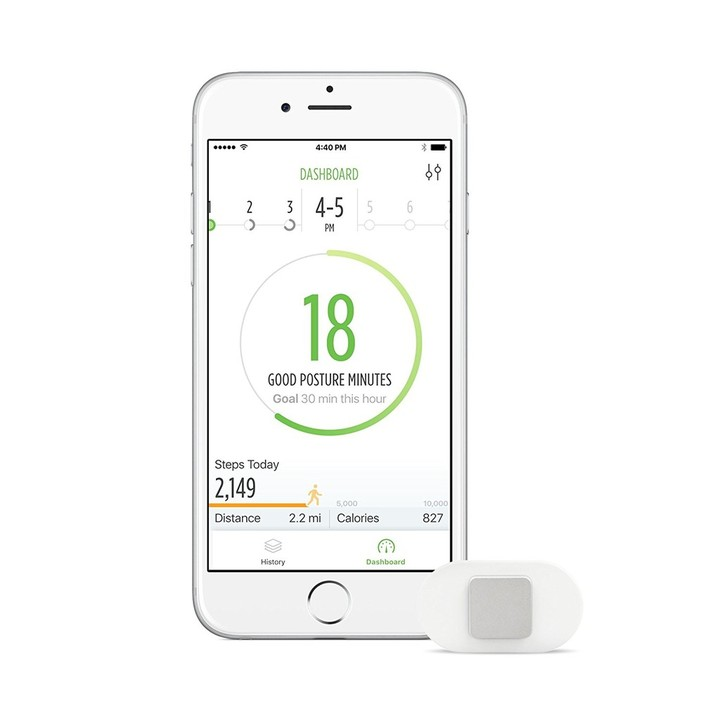 Lumo Lift Posture Coach and Activity Tracker