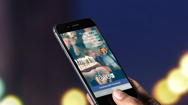 Fête App Offers Event Invitations That Everyone Can Use