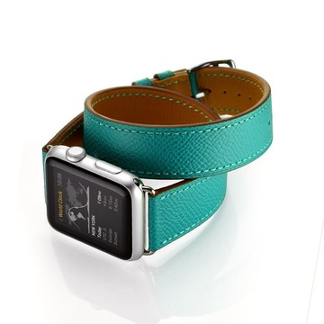 The Best Non-Apple Turquoise Replica Hermès Double Tour Apple Watch Band